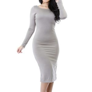 Dresses & Skirts - Deep V back dress